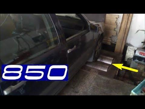 Едем на диностенд Volvo 850 надув 0.4 бара на атмо мозгах.