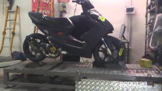 getlinkyoutube.com-Yamaha Aerox 7T 25.89CV By Scooter Racing Workshop