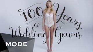 getlinkyoutube.com-100 Years of Fashion: Wedding Dresses ★ Mode.com