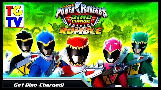 getlinkyoutube.com-Power Rangers Dino Charge Rumble Game