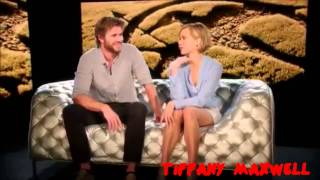 getlinkyoutube.com-Jennifer Lawrence & Liam Hemsworth - Favourite Moments