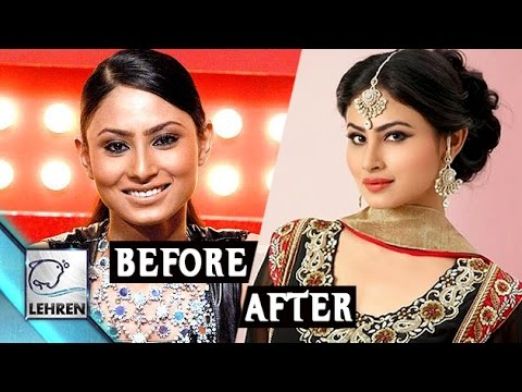 Transformation of Mouni Roy from a Dusky Damsel to Fair and Lovely Nagin – Unseen Videos Pics