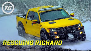 Rescuing Richard From Lone Wolf Mountain - Top Gear - Series 22 - BBC