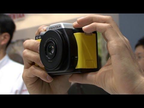 デザイナーとコラボしたミラーレス一眼カメラ - PENTAX K-01 #DigInfo