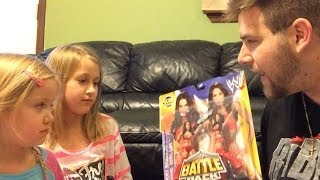 getlinkyoutube.com-Bella Twins for the GRIMMETTES! WWE Mattel wrestling figures from Grim