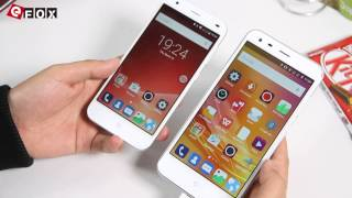 getlinkyoutube.com-ZTE Blade S6 Plus First Look VS iPhone 6 Plus