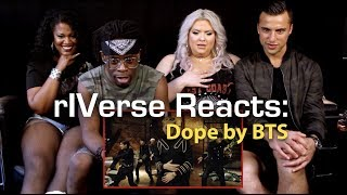 RIVerse Reacts: Dope By BTS   M/V Reaction