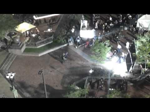 Avengers: 8/25 Filming 06 Loki vs Captain America Public Square (Tower City) Cleveland