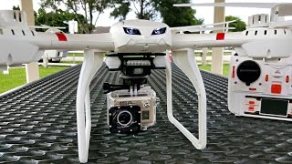 getlinkyoutube.com-MJX X101 - The $52 Quadcopter/Drone with an Action Camera 20MP - Amkov AMK5000S!