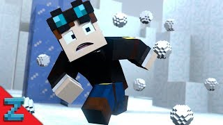 getlinkyoutube.com-SNOWBALL FIIIIIIGHT | The Diamond Minecart | (Minecraft Animation)