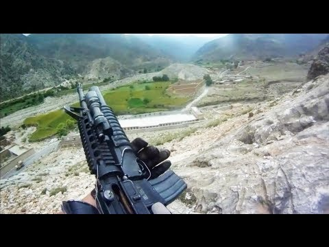U.S. Soldier Survives Taliban Machine Gun Fire During Firefight