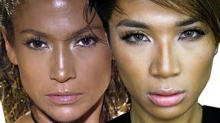 Jennifer Lopez Booty ft. Iggy Azalea Music Video Makeup Tutorial | ThePrinceOfVanity