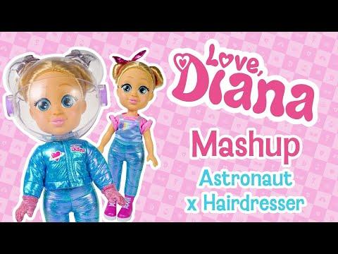 Love Diana 13 inch Doll Mashup Astronaut