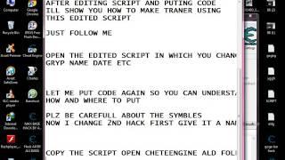 getlinkyoutube.com-How make traner from script you edit