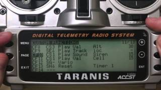 getlinkyoutube.com-Setting up Telemetry and Alerts on Taranis X8R