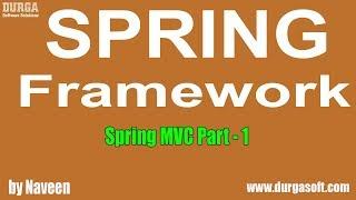 getlinkyoutube.com-Spring Framework - Spring MVC  (Part  - 1) by Naveen