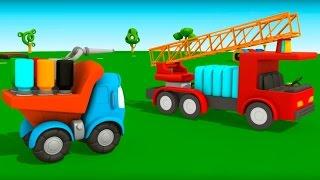 getlinkyoutube.com-Грузовичок Лева Малыш и Пожарная Машина. НОВЫЙ мультик 3D Мультфильмы для детей про машинки