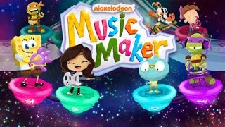 getlinkyoutube.com-Music maker nickelodeon - games for children's