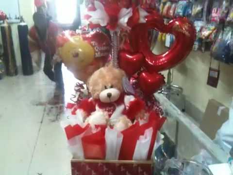 Como hacer arreglos con globos para San Valentín - Imagui