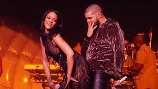 getlinkyoutube.com-Rihanna Twerks on Drake Onstage at Miami ANTI Concert