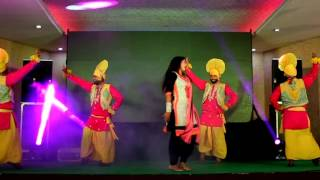 getlinkyoutube.com-Punjabi solo dance   pee pee whisky   friends dj nakodar