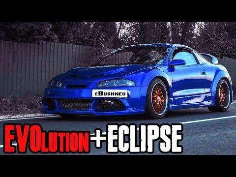 EVO swapped Mitsubishi ECLIPSE : Evolution under the hood evoclipse (part 3)