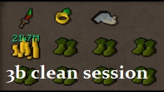 getlinkyoutube.com-WTF S7VEN - 3B Clean Session 07 Scape & 3b+ bank vid [100m+ stakes]