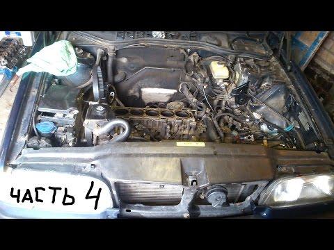 Ремонт двигателя Volvo 5-цилиндров ч.4 Доработки.
