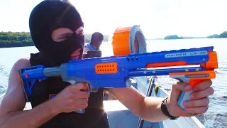 getlinkyoutube.com-Nerf Squad 11: The Escape