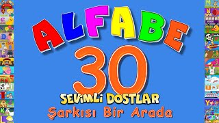 ABC Alfabe | Çizgi Film Eğitici Çocuk Şarkıları | Sevimli Dostlar | Adisebaba TV