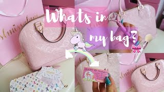 getlinkyoutube.com-Whats In My Bag? Louis Vuitton Alma -SLMissGlam♥♥