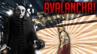 getlinkyoutube.com-GTA V DEATH RUN! VUELVA LA AVALANCHA! NOSFERATU Y EL CASTILLO xFaRgAnx