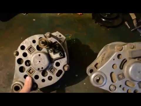 Где находится щетки генератора в ГАЗ 67
