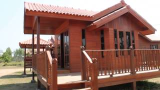 getlinkyoutube.com-บ้านระยอง บ้านไม้ ที่บ้านหลวงปู่เรือนไทย บ้านไม้เรือนไทย บ้านทรงไทย :ม.ค.57 Tel 087- 617 4014