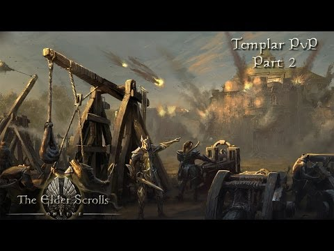 Elder Scrolls Online - Templar PvP Part 2: Ménage à trois isnt always fun...
