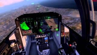 getlinkyoutube.com-Flying IndiaFoxtEcho's F-35 v3 for Prepar3D 2.5