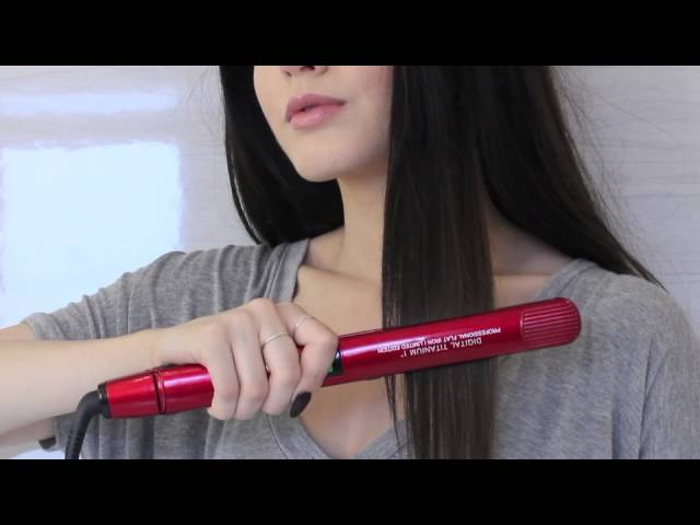 Hair Treats presents Ruby Red Flat Iron Features - Preview