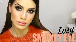 getlinkyoutube.com-Brown Smokey Eye Tutorial | Makeup Tutorials and Beauty Reviews | Camila Coelho