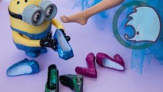 getlinkyoutube.com-DIY, How to make shoes for a doll. Как сделать туфли для куклы.