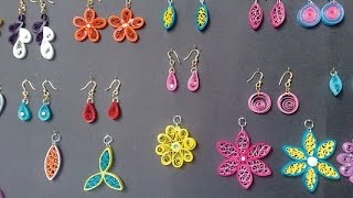 Modern Quilling Studs Earrings