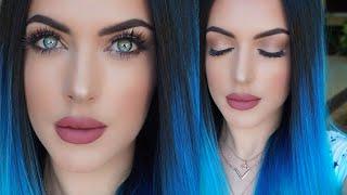 getlinkyoutube.com-Kylie Jenner Inspired Makeup