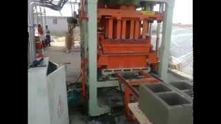 getlinkyoutube.com-SHENGYA QT4-15 Automatic Hollow Block/Brick Machine,Solid Brick/Fly Ash Brick/Concrete Block Machine