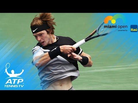 Funny Khachanov, Rublev doubles fail! | Miami Open 2018