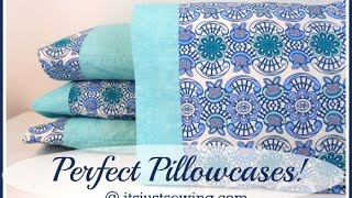 getlinkyoutube.com-How to make a perfect pillowcase