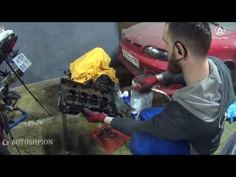 7 минут замены цепи ГРМ Мерседес Бенц С200 W204 W203 М271 Replacing the timing chain Mercedes Benz