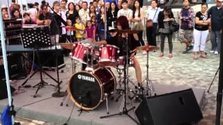getlinkyoutube.com-曼青香港站--爵士鼓表演(變形金剛電影版 主題曲)