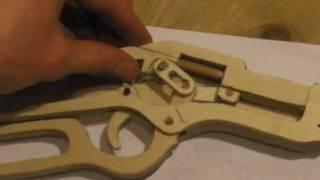 getlinkyoutube.com-Winchester lever action rifle wooden gun