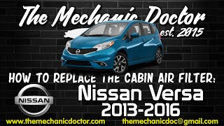 getlinkyoutube.com-How to Replace the Cabin Air Filter : Nissan Versa 2013, 2014, 2015, 2016