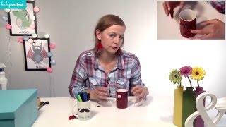 getlinkyoutube.com-Jak zrobić kubek z napisem - DIY na prezent