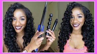 getlinkyoutube.com-8 Curling Wand Sizes in One Set! Irresistible Me Sapphire 8 in 1 Complete Curler